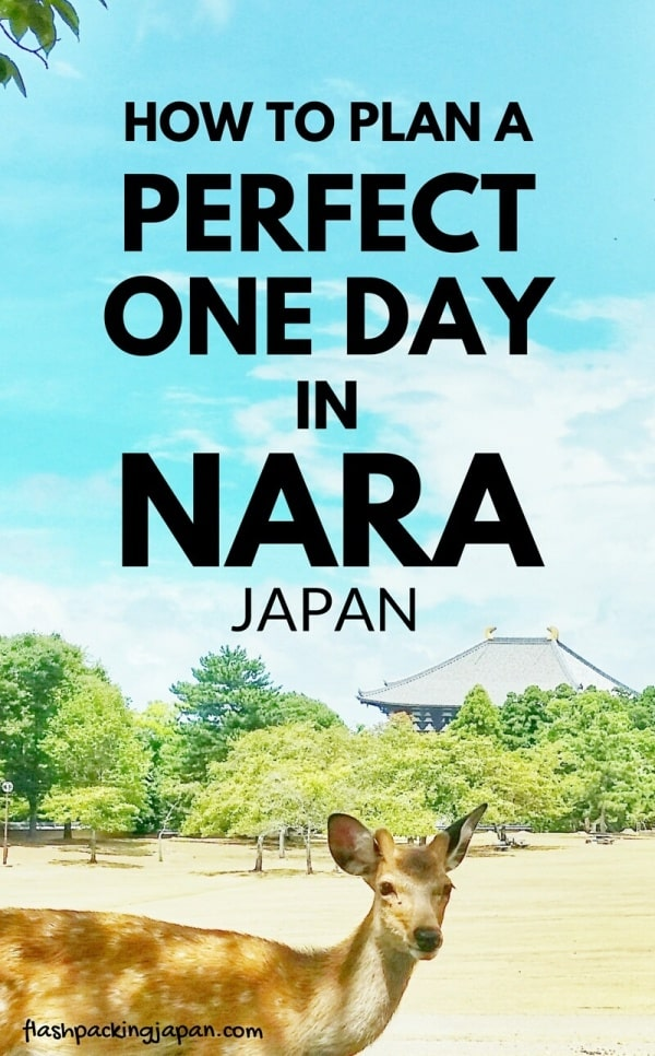 Best places to visit in Nara in one day itinerary. Day trip from Kyoto. Day trip from Osaka. Backpacking Japan