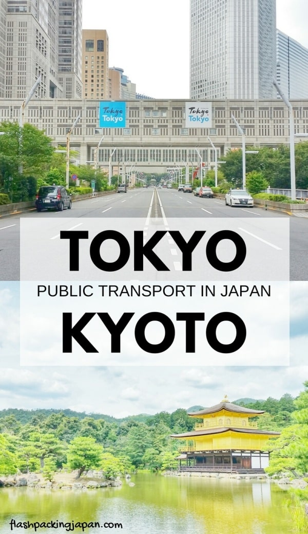 Tokyo to Kyoto shinkansen bullet train with JR pass. Public transportation train travel tips with Japan rail pass. Backpacking Japan.