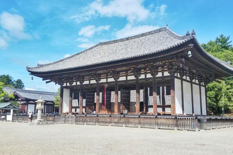 Best UNESCO world heritage sites to visit in Nara. Kofukuji temple. Backpacking Japan