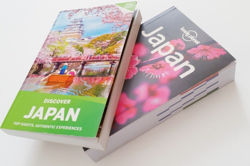 Best Japan travel guidebooks: Lonely Planet Japan and Discover Japan - with PDF. Backpacking Japan