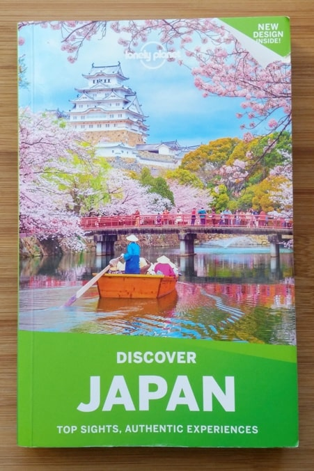 Best Japan travel guidebooks: Lonely Planet Discover Japan with PDF. (There's a Discover Tokyo guide too.) Backpacking Japan