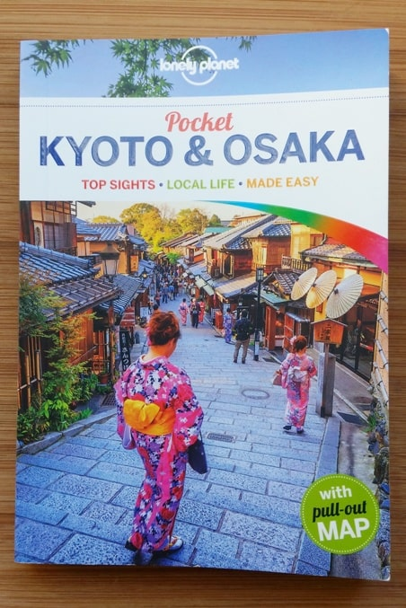Best Japan travel guidebooks: Lonely Planet pocket guide book for Kyoto and Osaka with PDF. (There's a Lonely Planet Tokyo pocket city guide too.) Backpacking Japan