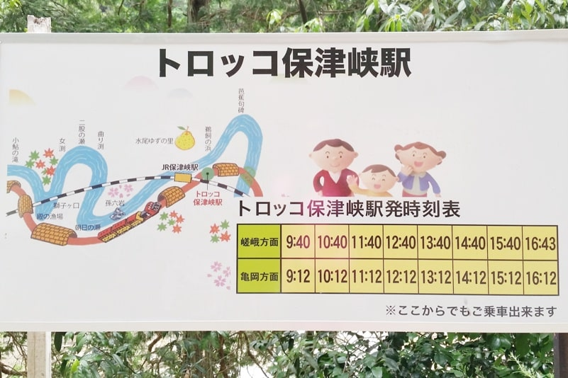 Hozukyo torokko station sagano scenic romantic train timings. One day in Arashiyama and Sagano. Backpacking Kyoto Japan