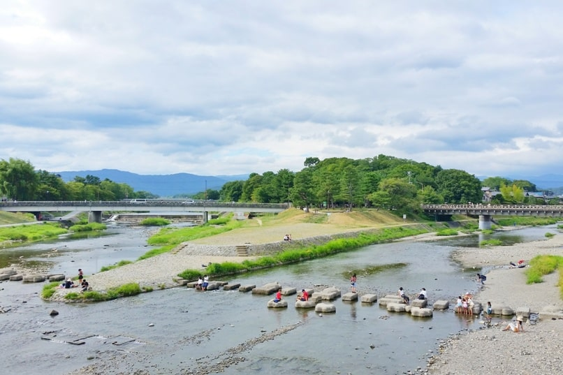 Kurama Kibune Ohara: Kyoto day trip with one day pass. Best things to do - Kamogawa River. Backpacking Kyoto Japan