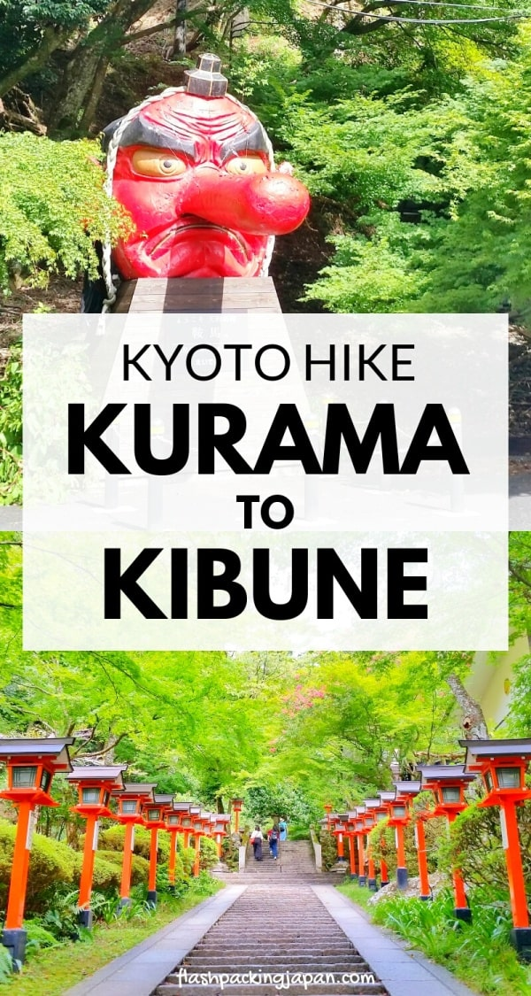 Kurama to Kibune hike, Kyoto: Best things to do in Kyoto itinerary. Backpacking Kyoto Japan travel blog