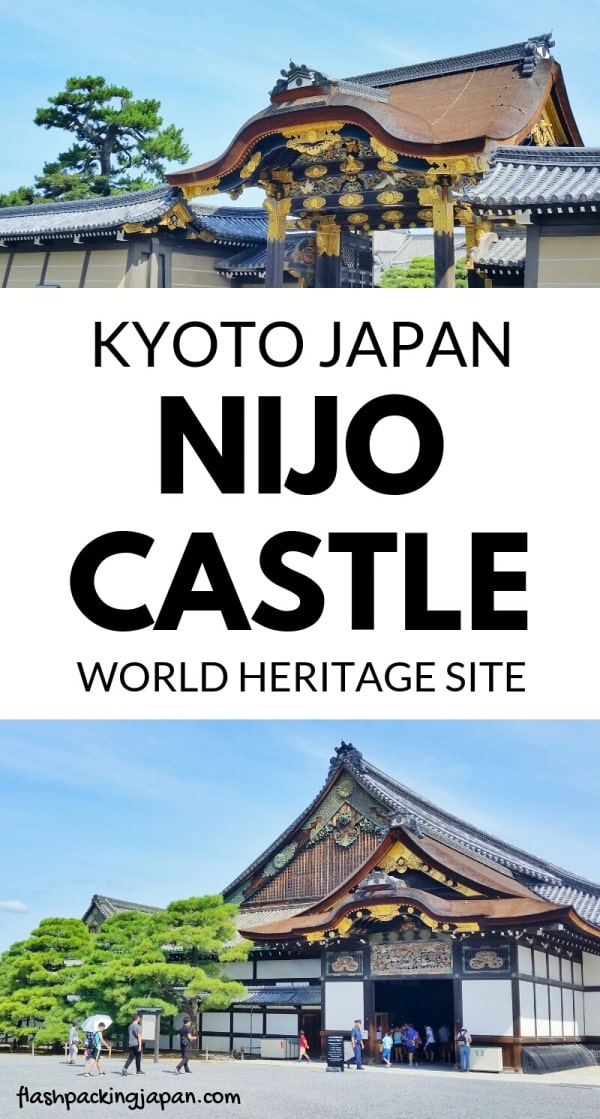 Visit to Nijo Castle, unesco world heritage site in Kyoto. Backpacking Kyoto Japan travel blog