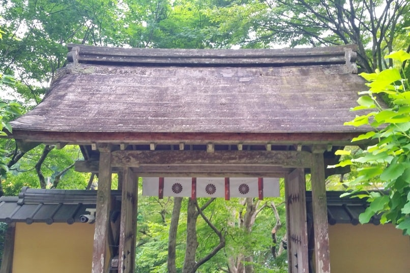Ohara with visit to Jakko-in temple entry. Day trip from Kyoto. Backpacking Japan