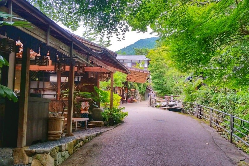 Ohara village culture walk. gift shopping and japan souvenirs. Day trip from Kyoto. Backpacking Japan