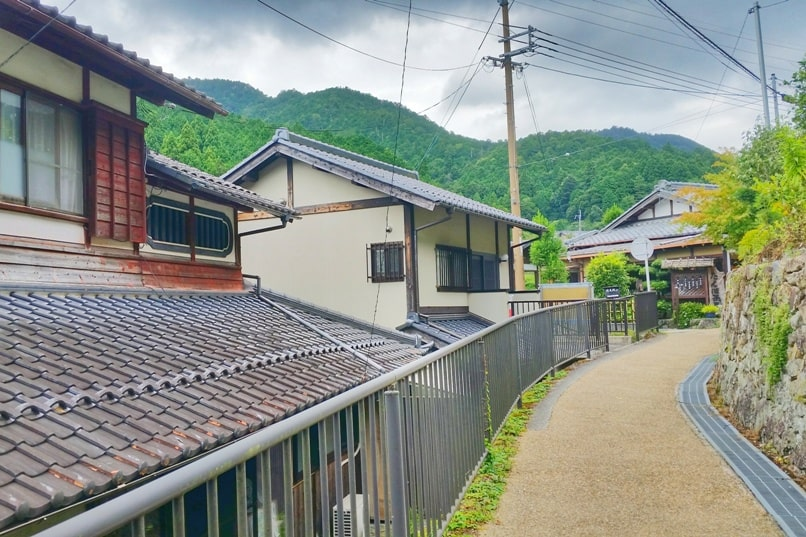 Ohara village culture walk. Day trip from Kyoto. Backpacking Japan