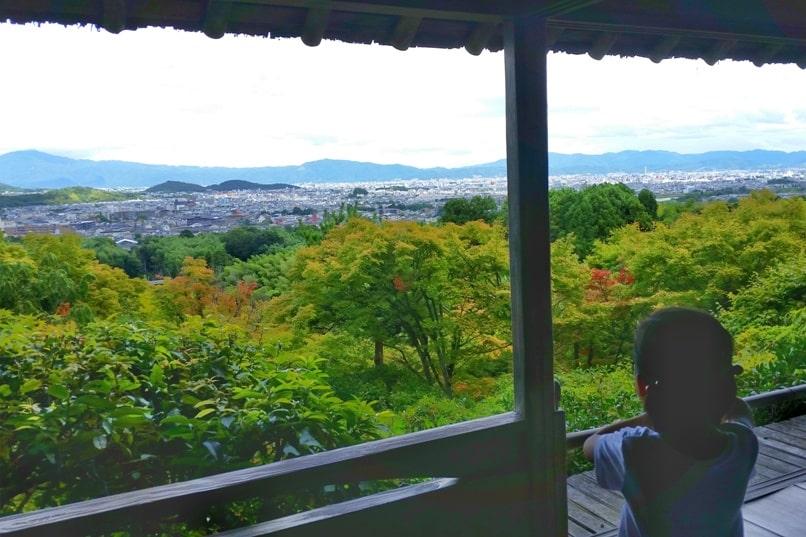 Okochi sanso teahouse with visit to villa Japanese gardens - mountain views and Kyoto city views. One day in Arashiyama and Sagano. Backpacking Kyoto Japan
