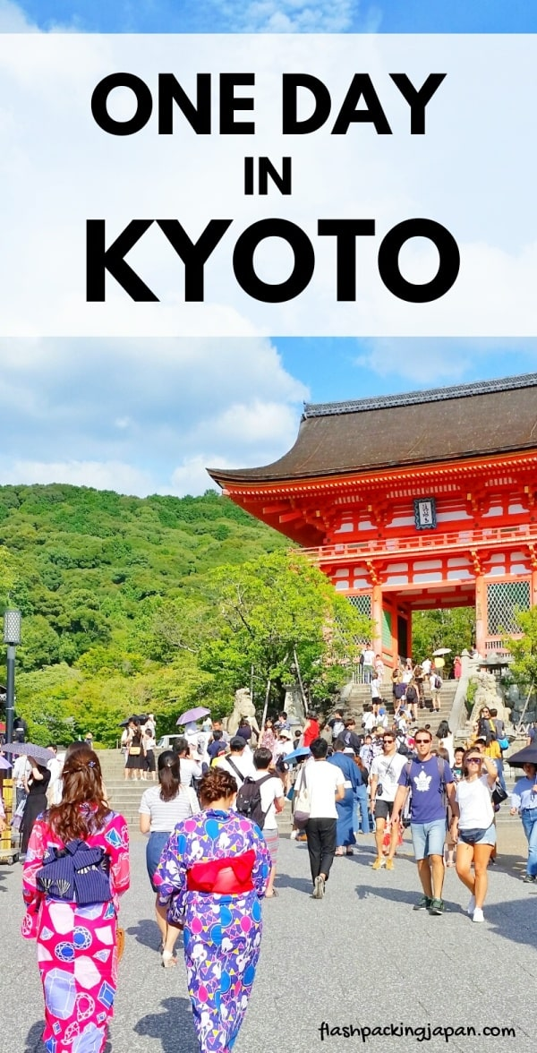 One day in Kyoto Japan itinerary. Best places to visit in Kyoto with one day bus pass. How to get around Kyoto by bus. Backpacking Kyoto Japan travel blog and Kyoto travel guide