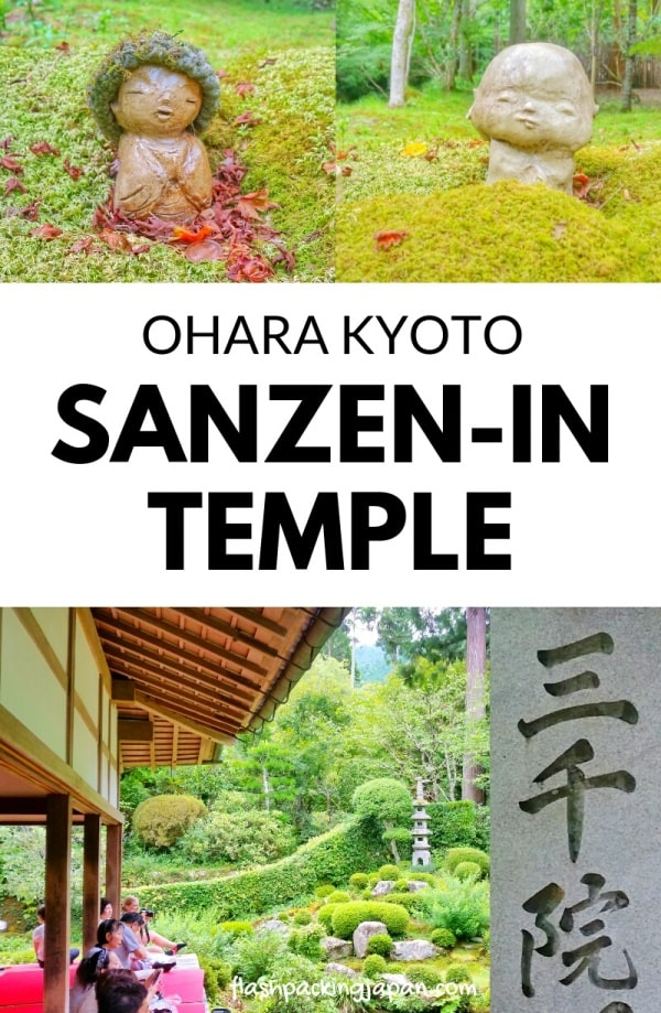 Sanzen-in Temple, Ohara. Day trip from Kyoto to Ohara rural village. Backpacking Kyoto Japan travel blog