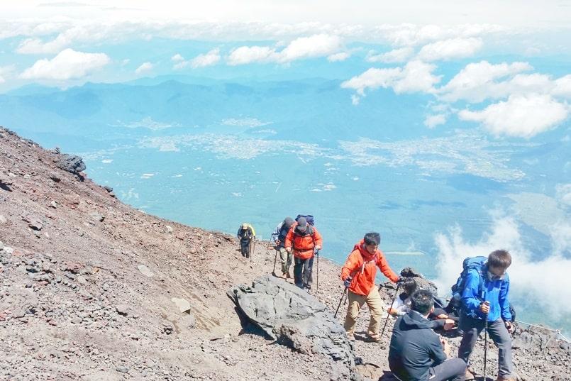 Travel insurance for Japan: For hiking, trekking high altitude. Climbing Mt Fuji. Backpacking Japan Asia