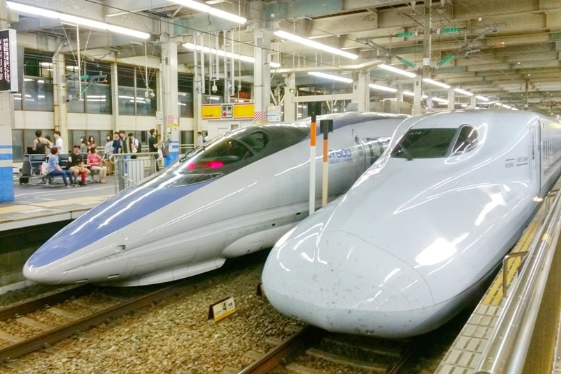 Planning for a first trip to Japan travel tips: How to get around Japan with JR pass. Take super fast shinkansen bullet train. First time in Japan. Backpacking Asia