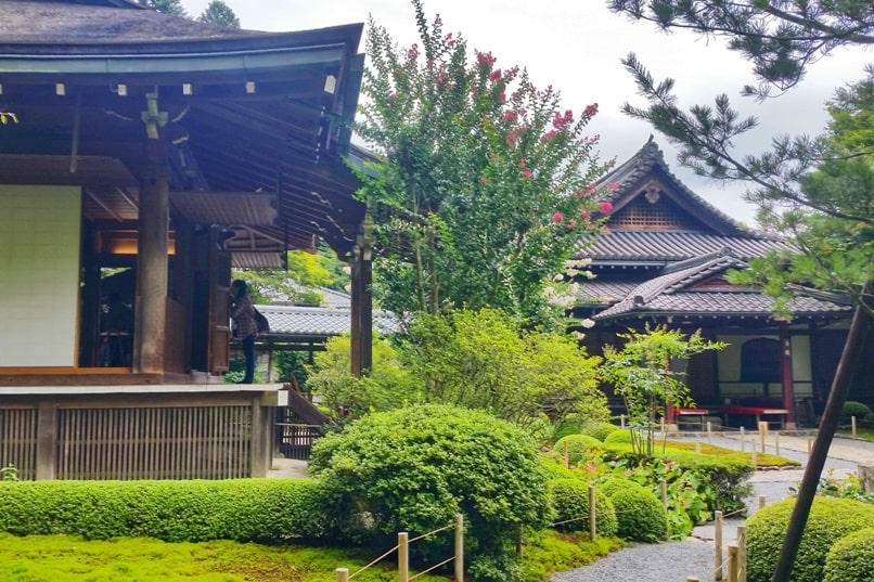Jakko-in Temple visit in Ohara. Kyoto day trip. Backpacking Kyoto Japan