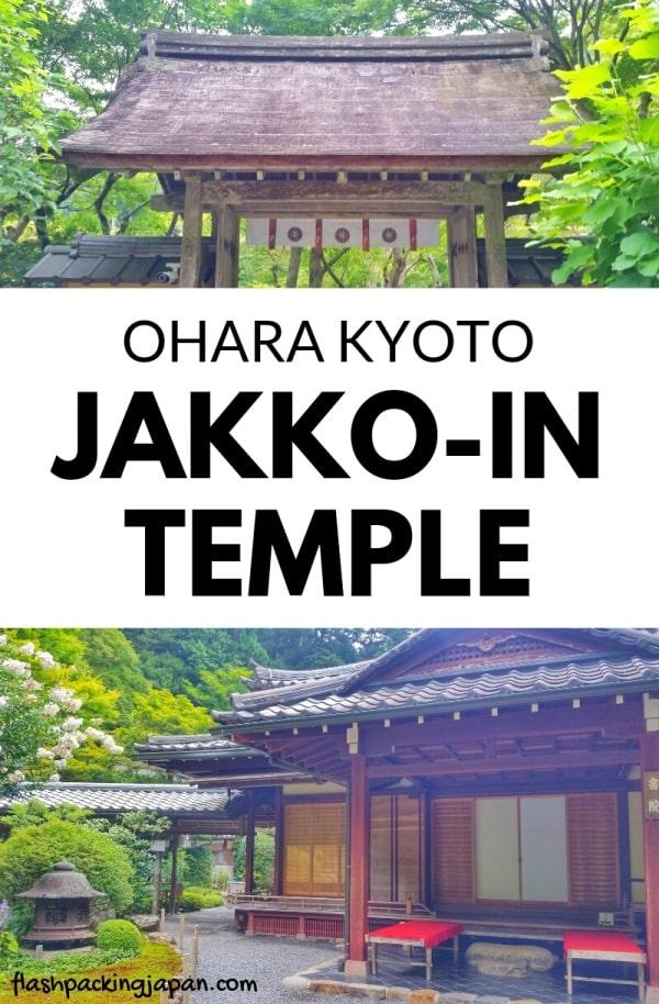 Jakko-in Temple visit in Ohara. Kyoto day trip. Backpacking Kyoto Japan travel blog