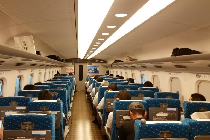 Is JR pass worth it?! Japan shinkansen bullet train tickets in non-reserved seating. Reservations not necessary. Backpacking Japan train travel
