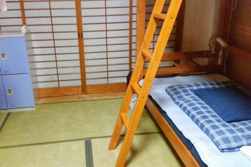 K's house hostels in Japan with locker storage and dorm beds - mixed and female only. Backpacking Japan on a budget for solo travelers and backpackers, cheap accommodation.