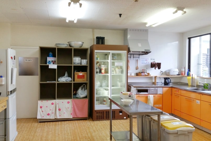 K's house Mt Fuji hostel in Kawaguchiko. Hostel with kitchen. Backpacking Japan on a budget for solo travelers and backpackers, cheap accommodation.