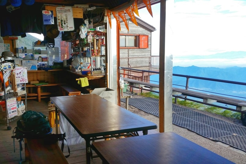 Mt Fuji mountain huts - Is it worth it to make it a 2-day climbing Mount Fuji, or do one-day bullet climb? Hiking in Japan.