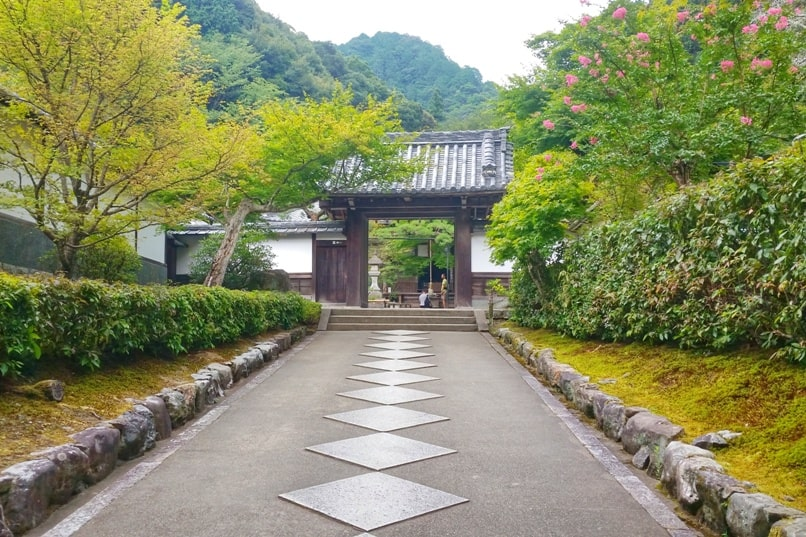 Philosopher's path walk - Nanzenji Temple visit - entry. Backpacking Kyoto Japan