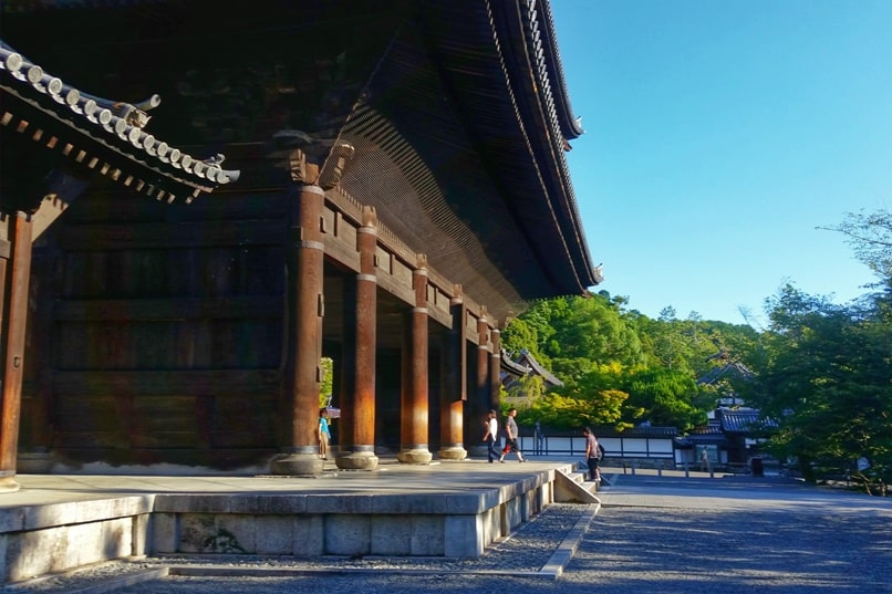 Philosopher's path walk - Nanzenji Temple visit. Backpacking Kyoto Japan