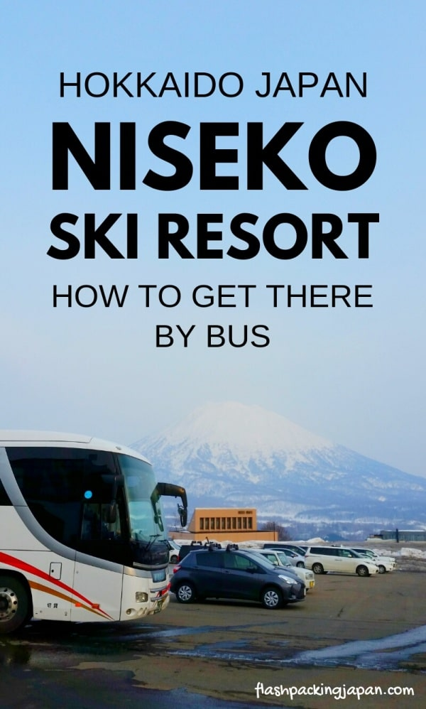 Sapporo Chitose Airport to Niseko bus - how to get there, bus or train? Backpacking Hokkaido winter Japan travel blog
