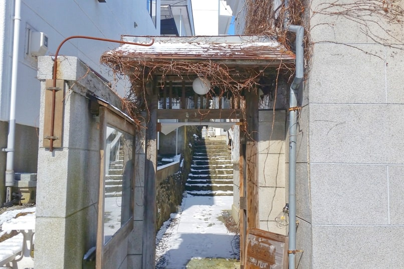 Small town hostel Hakodate entry to reception hours. Backpacking Hokkaido Japan