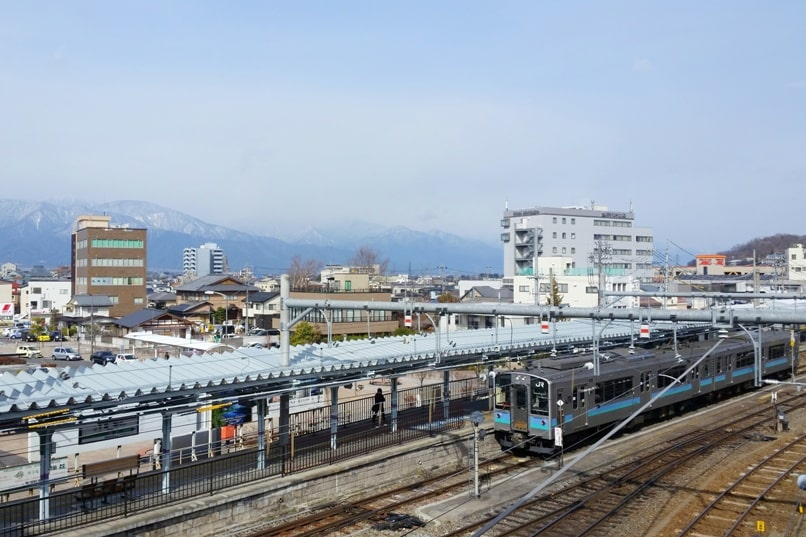 Hakuba to matsumoto train station. Backpacking Nagano Japan
