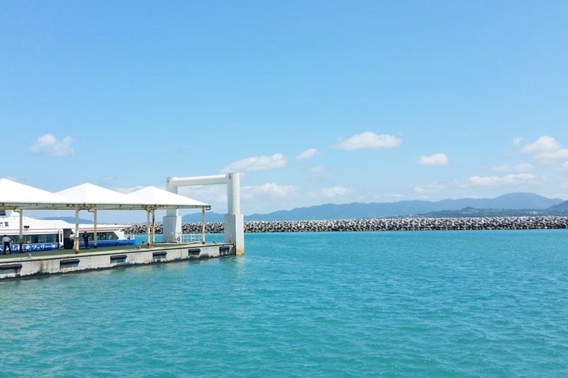 Ishigaki to Taketomi ferry. Taketomi ferry port timings. Backpacking Yaeyama islands, Okinawa Japan travel blog