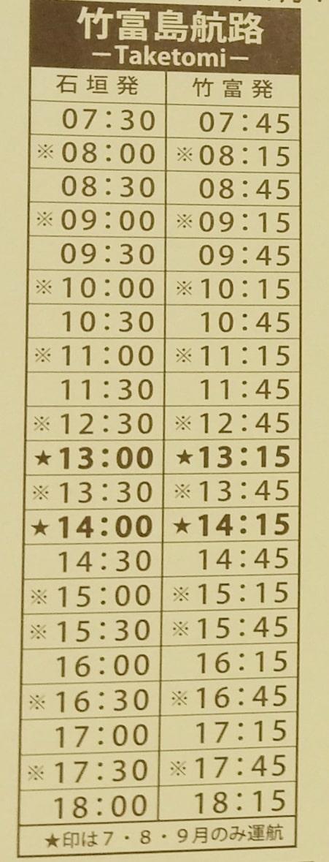 Ishigaki to Taketomi ferry timings for Ishigaki to Taketomi island. Backpacking Yaeyama islands, Okinawa Japan