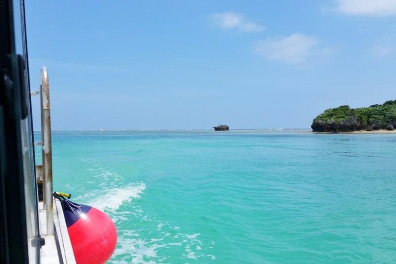 Kabira Bay, Ishigaki. Best things to do at Kabira Bay - glass bottom boat ride. Yaeyama islands. Backpacking Okinawa Japan