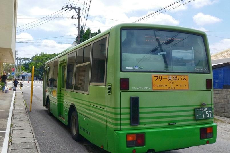 Kabira Bay bus stop. Backpacking Ishigaki Okinawa Japan