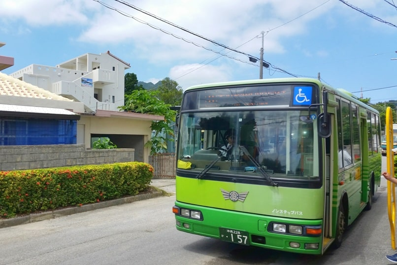 Kabira Bay bus - how to get there from ishigaki bus terminal or ishigaki ferry port. one day bus pass how much cost. Backpacking Ishigaki Okinawa Japan