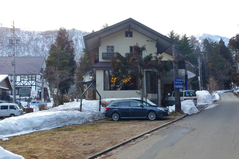 K's house hakuba hostel. check-in time. Backpacking Japan Alps winter travel