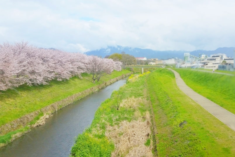 Kyoto to Kansai airport KIX train - jr haruka train ride to airport. Backpacking Kyoto Japan