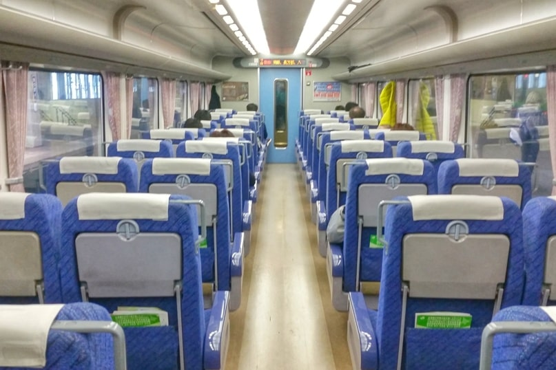 Sapporo to Hakodate train seating - reserved or nonreserved. Backpacking Hokkaido Japan