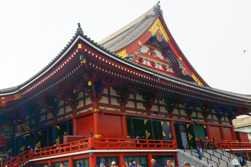 Sensoji temple visit. places to visit in asakusa. Backpacking Tokyo Japan