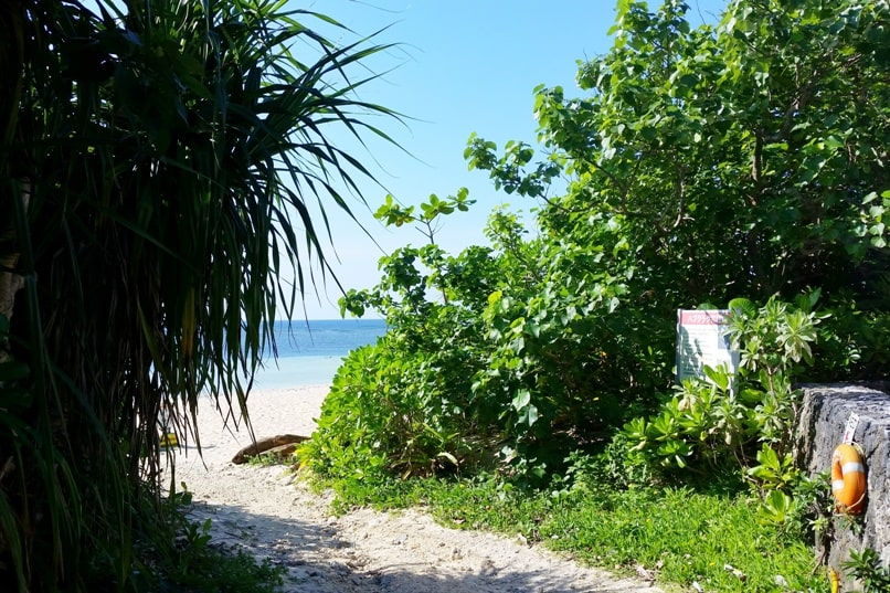 How to get to Yonehara Beach, public beach access - Best snorkling spots in Ishigaki Okinawa. Backpacking Japan