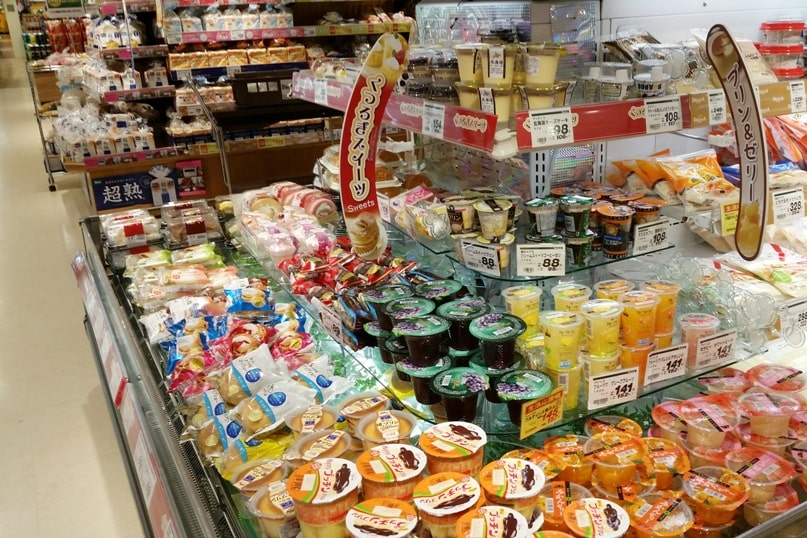 Food near Matsumoto bus terminal - grocery store. where to eat. Backpacking japan travel blog