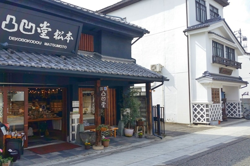 Nakamachi street on Matsumoto walking tour. Backpacking japan travel blog