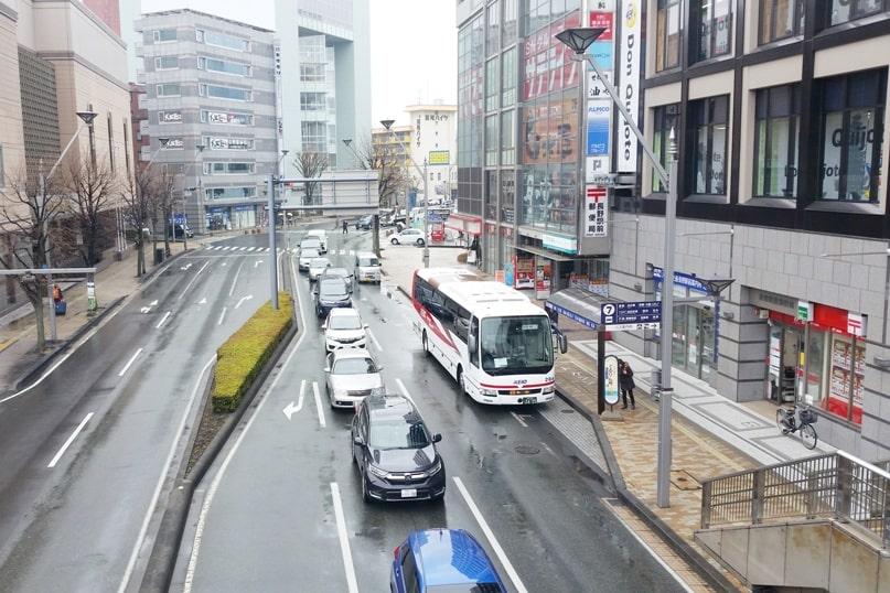 Tokyo to Nagano bus from shinjuku bus terminal. Backpacking Japan travel blog