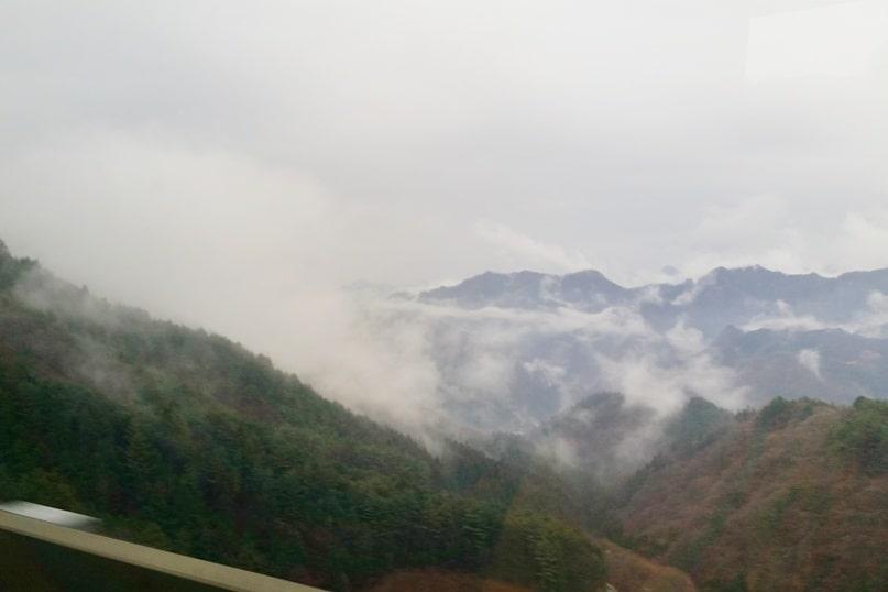 Tokyo to Nagano bus ride. Backpacking Japan travel blog