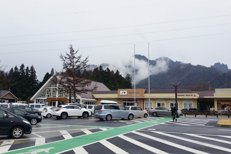 Tokyo to Nagano bus ride. rest area timing. Backpacking Japan travel blog