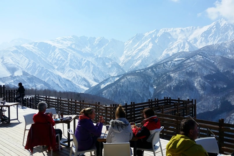 10 days in Japan winter itinerary. Best places to visit in Japan in winter. Hakuba, northern Japanese alps. Backpacking Japan winter travel blog