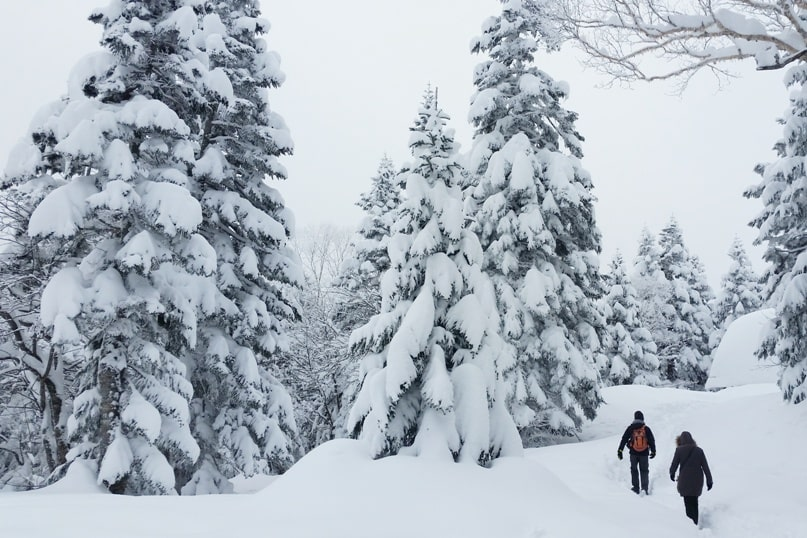 10 days in Japan winter itinerary. Things to do in winter in Japan. winter hikes in japanese alps. Backpacking Japan winter travel blog