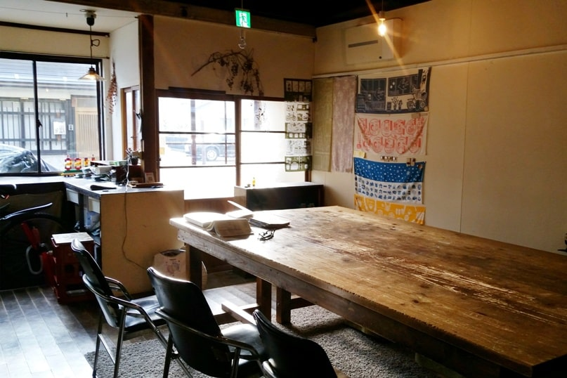 1166 backpackers hostel in Nagano. common area. Backpacking Japan travel blog