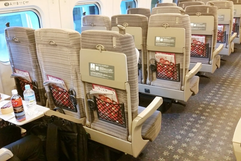 Hokkaido Japan winter itinerary with 7-day JR pass. inside seats. Tokyo to Hokkaido shinkansen bullet train. Hokkaido to Tokyo Hokkaido shinkansen bullet train. Tokyo to Sapporo. Tokyo to Hakodate. 1 week in Hokkaido. 14-day JR pass, 21-day JR pass. Backpacking Japan winter travel blog