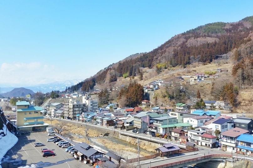 Shibu Onsen hot springs in Nagano. how to get to shibu onsen from jigokudani snow monkey park. Backpacking Japan travel blog