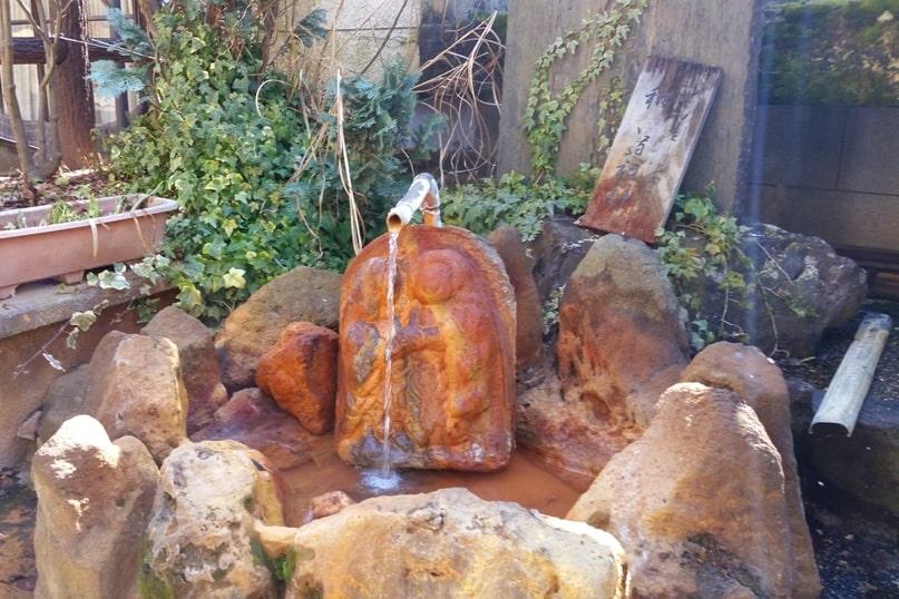 Shibu Onsen hot springs in Nagano. natural hot springs. Backpacking Japan travel blog